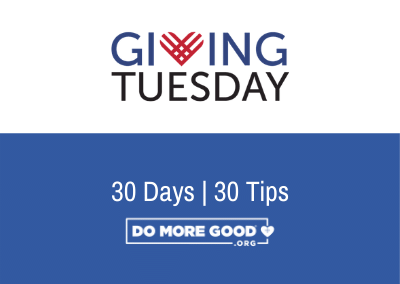 Giving Tuesday Tip #2: Set Internal and External Goals